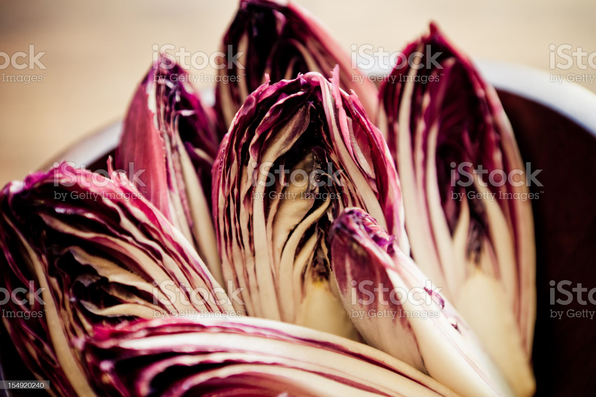 Red Endives royalty-free stock photo