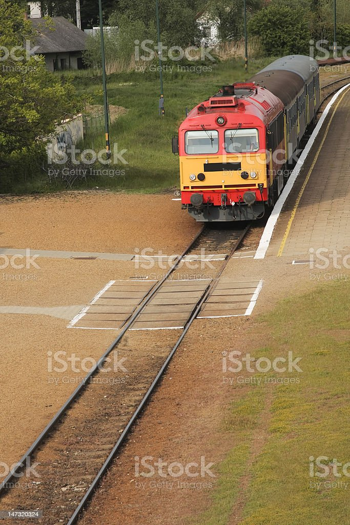 red engine royalty-free stock photo