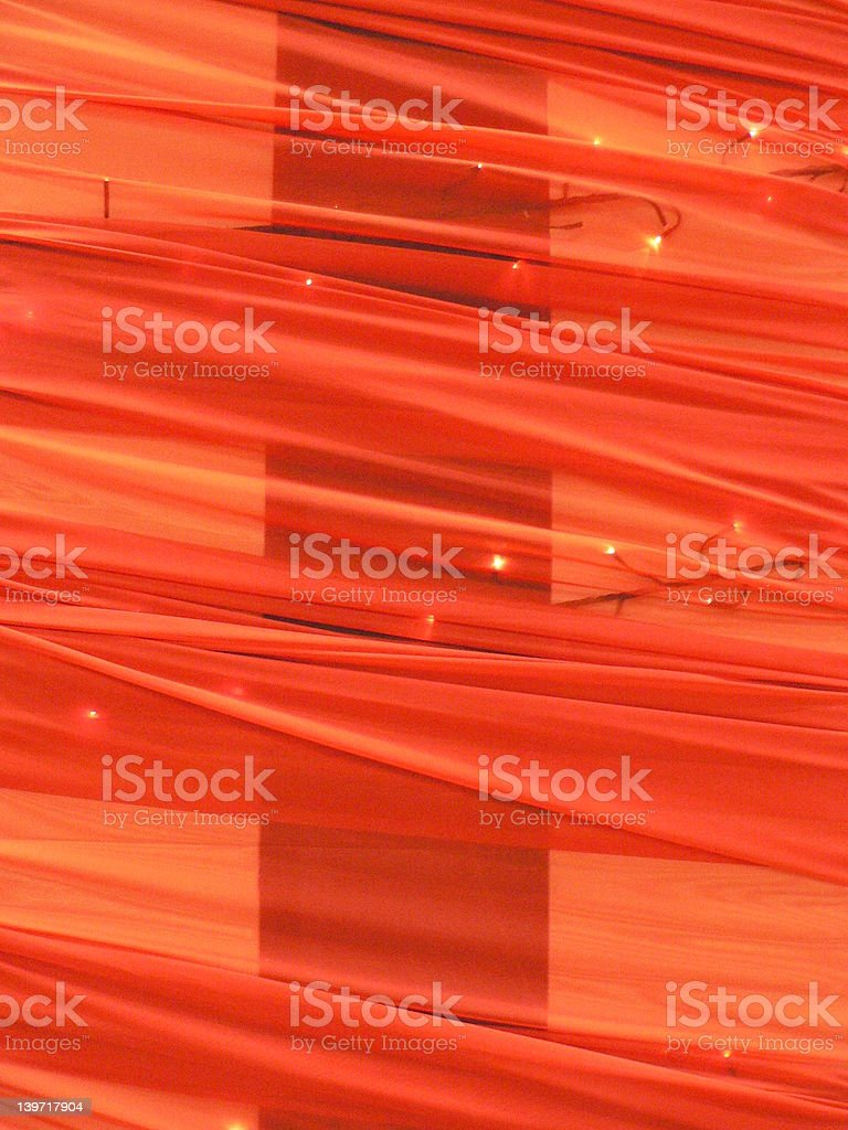 red fabric enlightened royalty-free stock photo