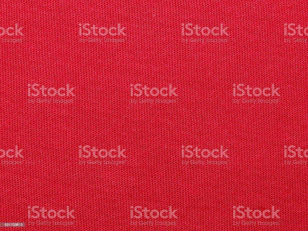 red fabric stock photo
