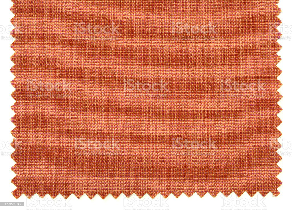 Red fabric swatch samples texture royalty-free stock photo