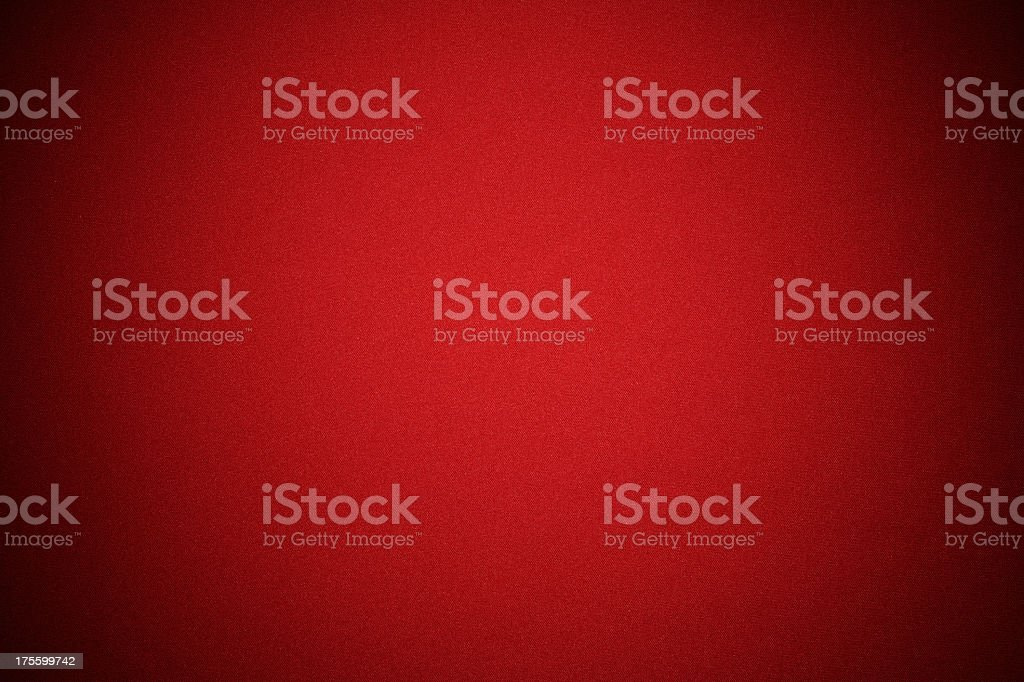 Red fabric texture background with spotlight stock photo
