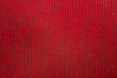 Red fabric texture – can be used as background