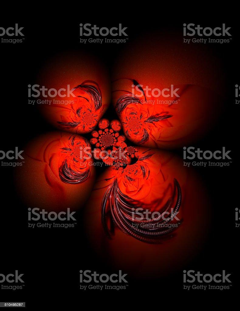 Tissu rouge avec bracelets photo libre de droits