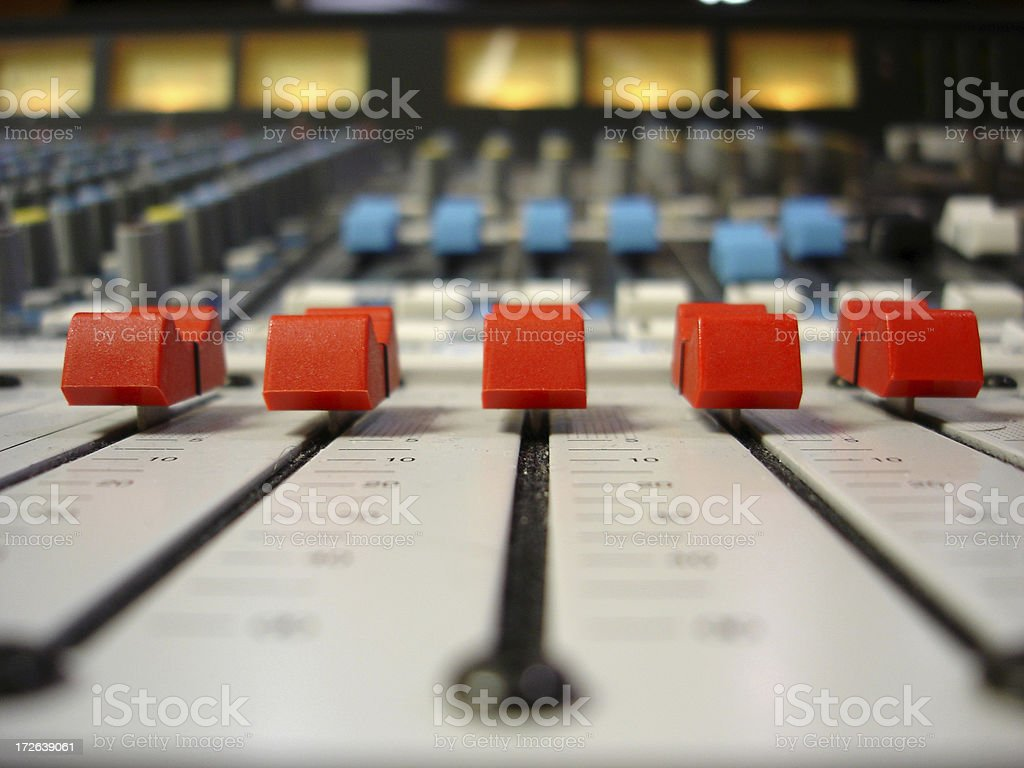 Red Faders stock photo