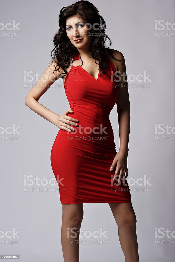 Red fashion royalty-free stock photo
