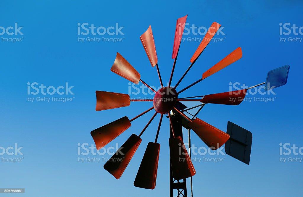red feather and blue sky foto de stock libre de derechos