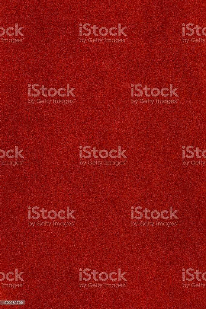 Red felt background stock photo