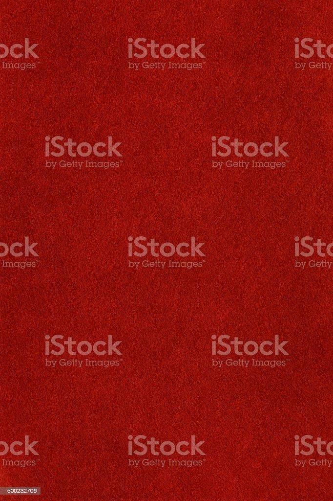 Red felt background stock photo