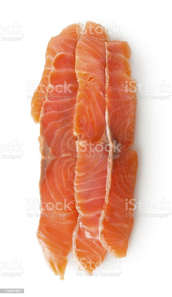 Red fish fillet royalty-free stock photo