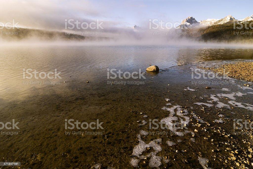 Red fish Lake, Stanley, Idaho royalty-free stock photo
