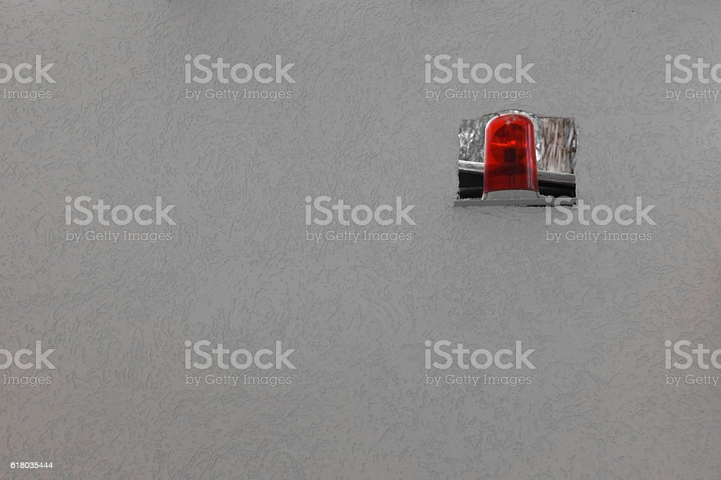 red flashers Background stock photo