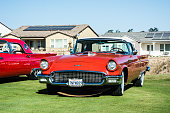 Red Ford Thunderbird