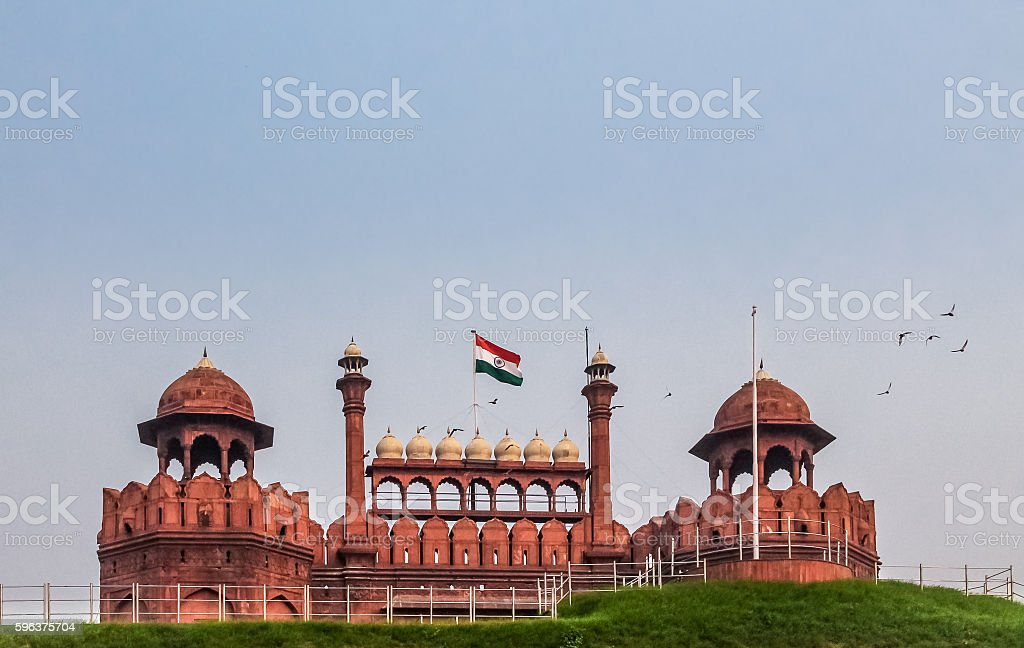 Red Fort - Delhi, India stock photo