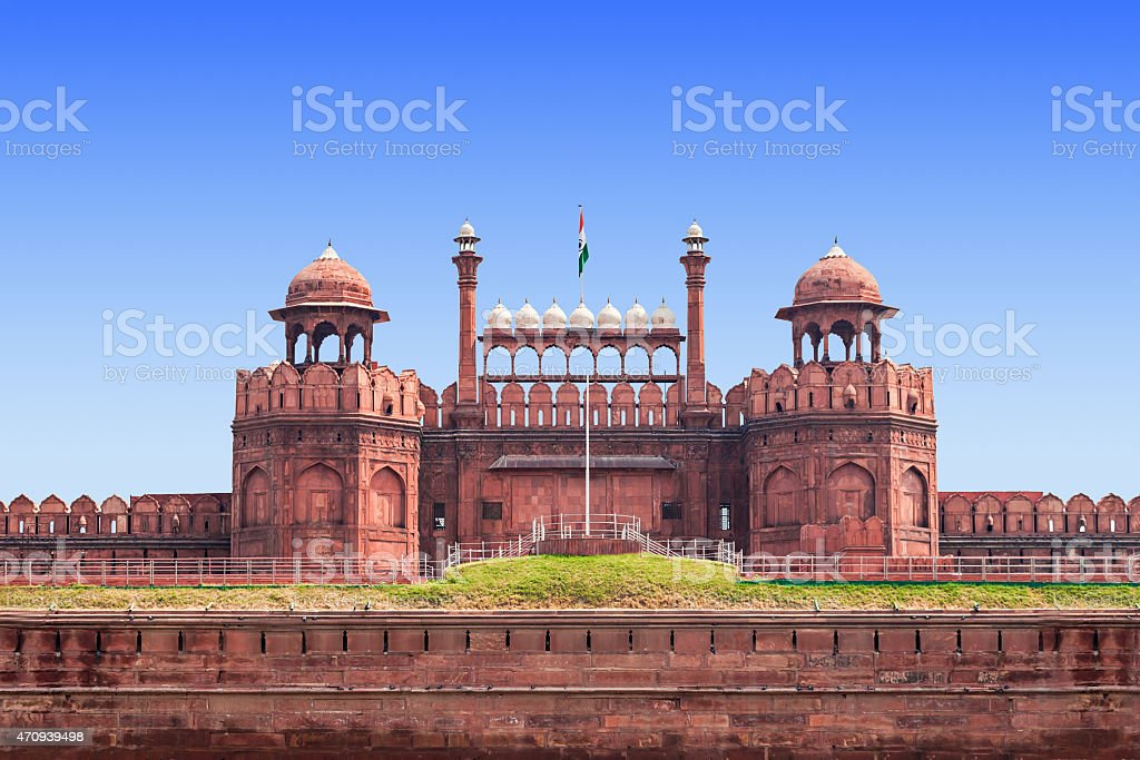 Red Fort stock photo