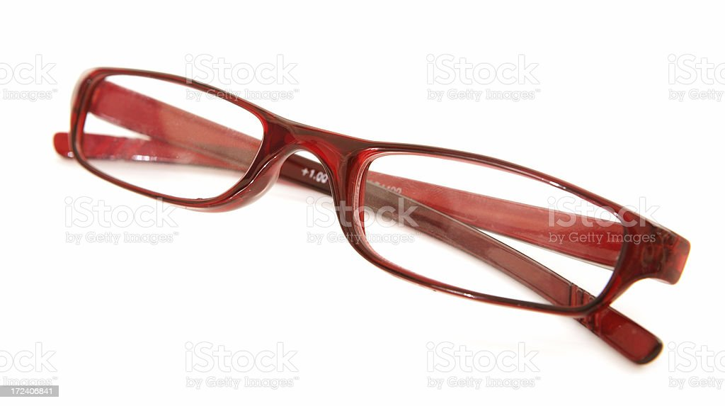 Red Frames on White royalty-free stock photo