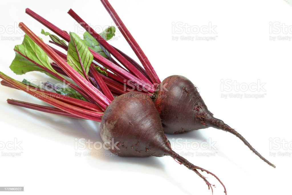 Red fresh beet royalty-free stock photo