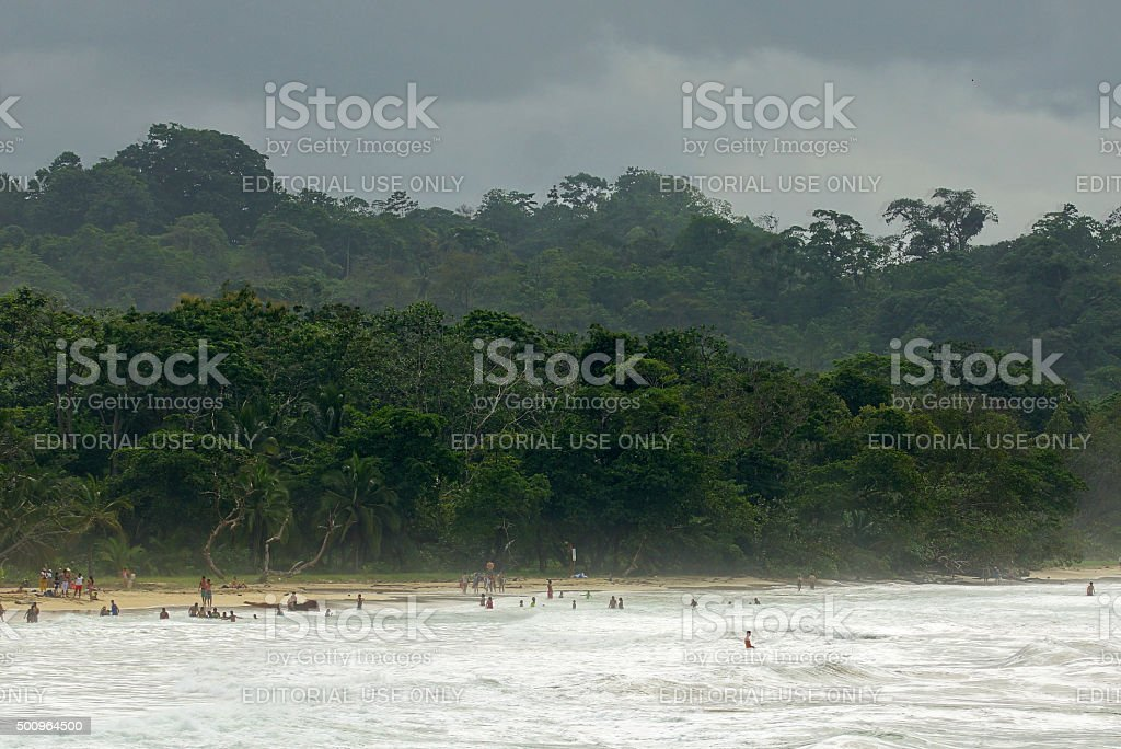 Red Frog Beach stock photo