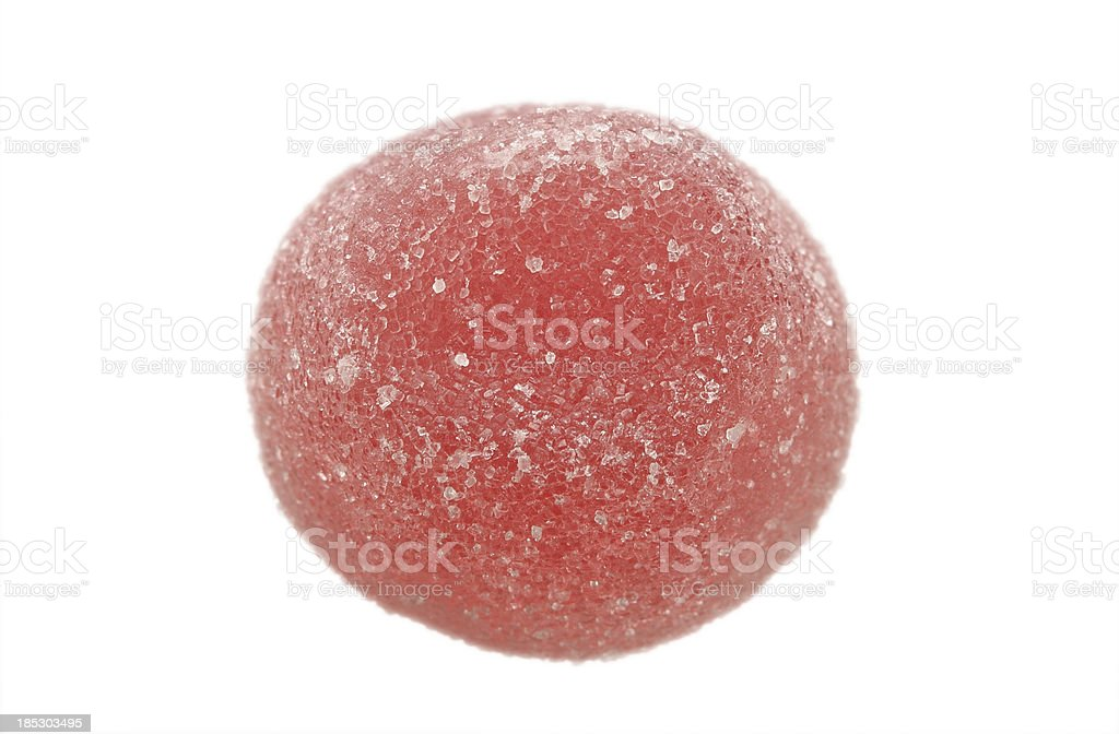Red fruit gum drop royalty-free stock photo