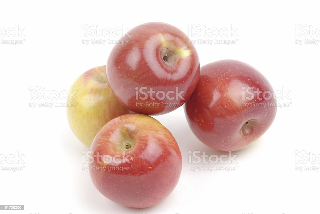 Red Fuji Apples royalty-free stock photo