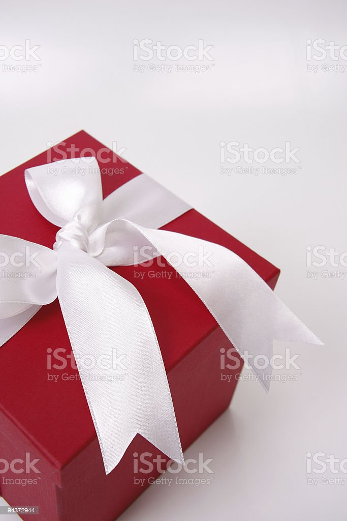 Red Gift Box Series royalty-free stock photo