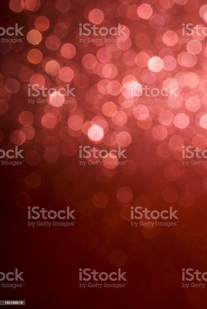 red glitter defocused stock photo