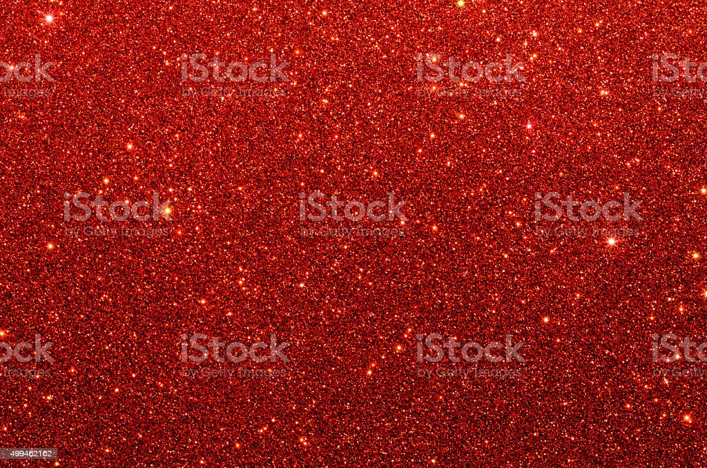 Red glitter paper texture stock photo
