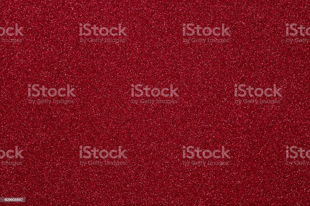 Red glitter texture background stock photo