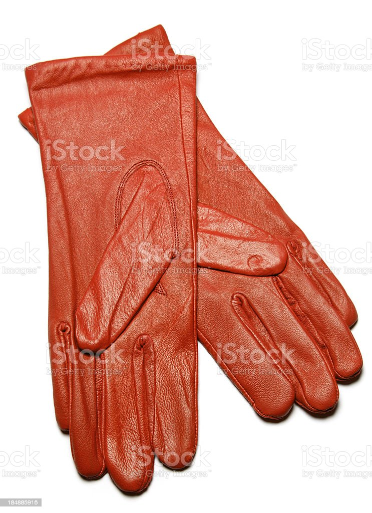 red glove royalty-free stock photo