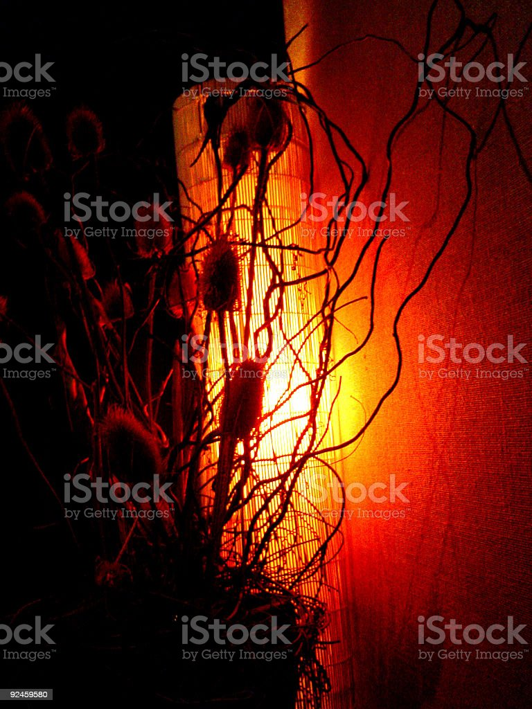 Red Glow royalty-free stock photo
