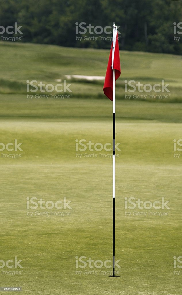 Red Golf Flag 6
