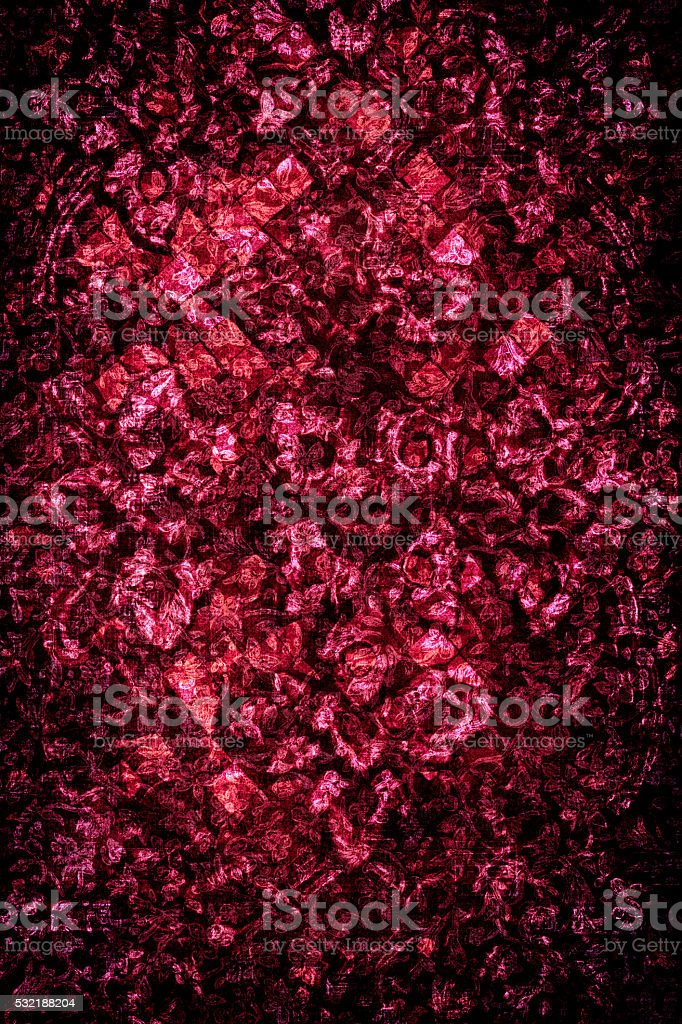 Red Gothic Background stock photo