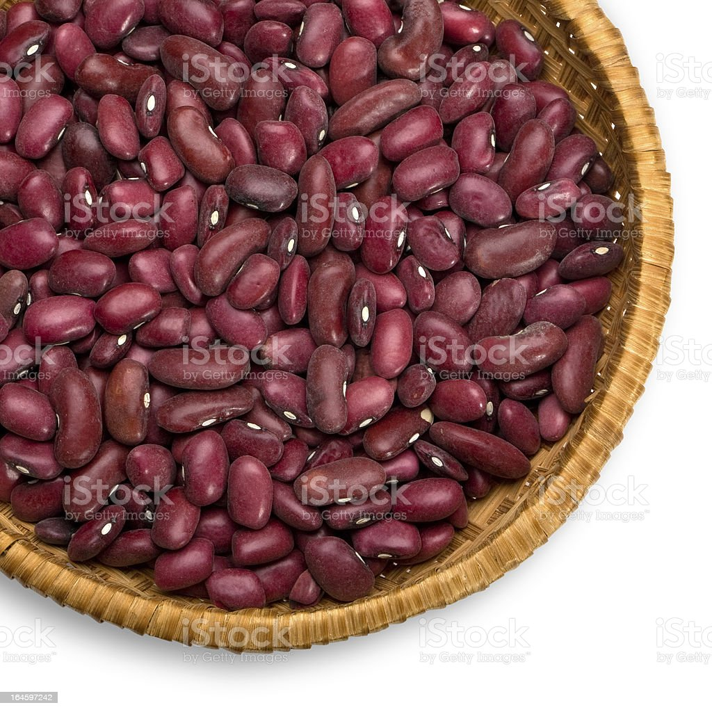 red  grains beans royalty-free stock photo