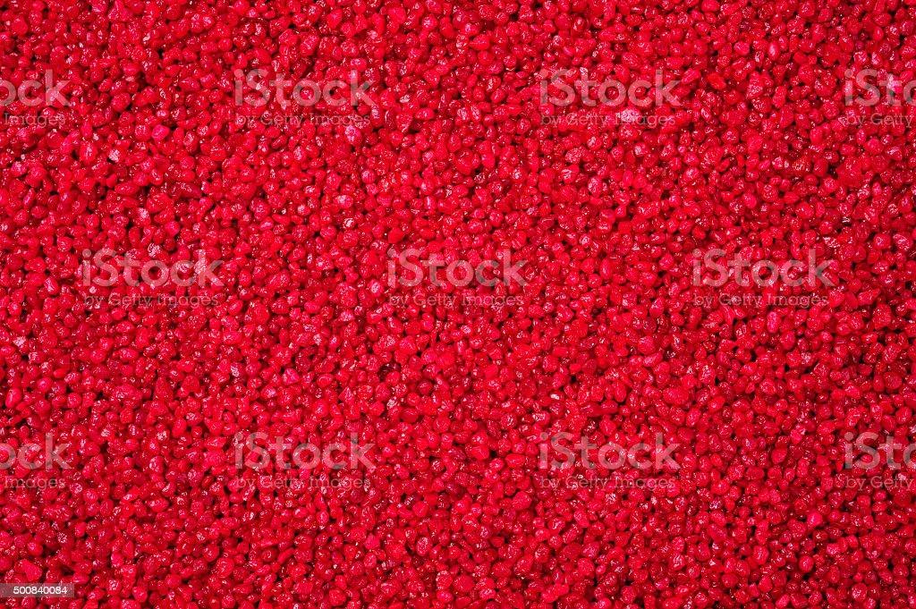 red granular texture stock photo