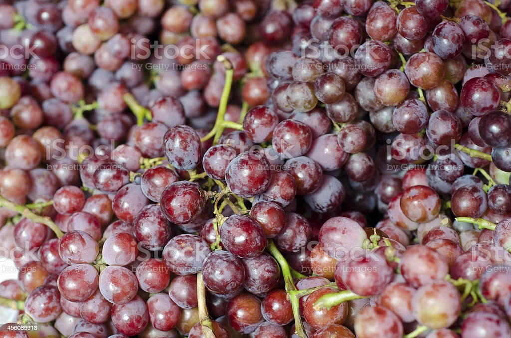 Red grape background royalty-free stock photo