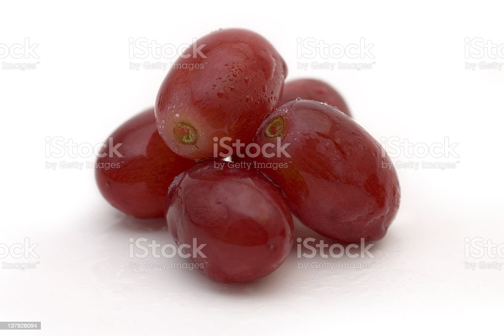 Red Grape - Five royalty-free stock photo