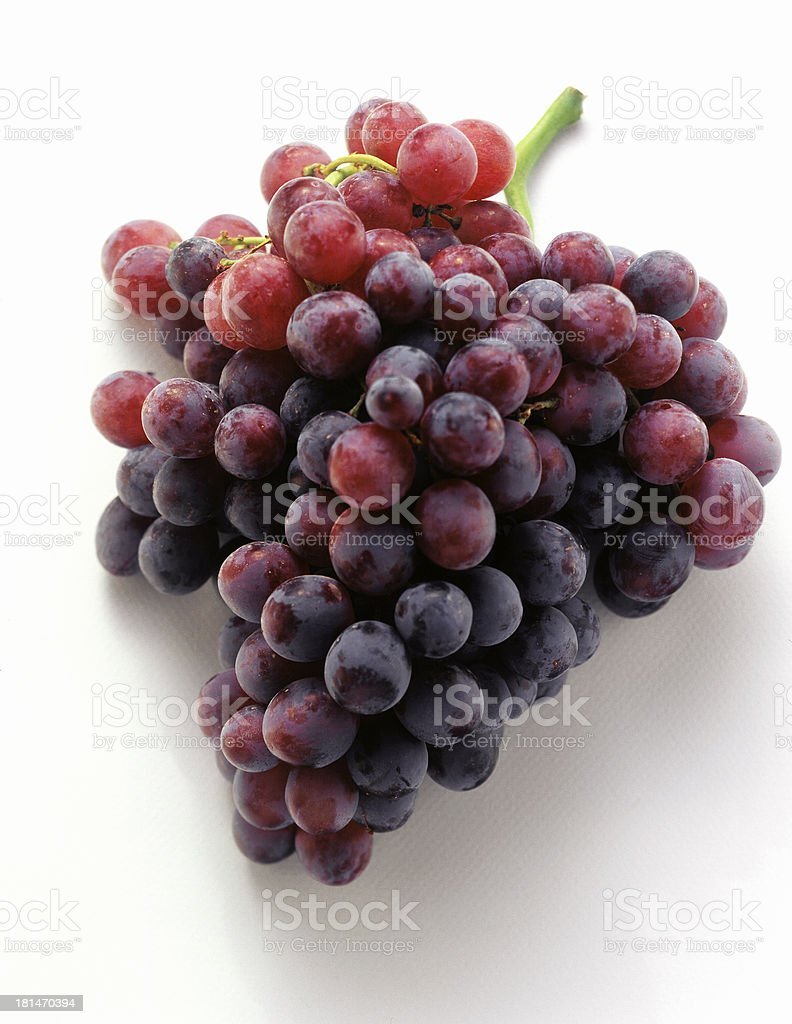 red grape isolated royalty-free stock photo