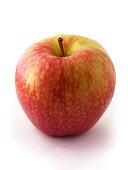 Gala Apple Isolated On White