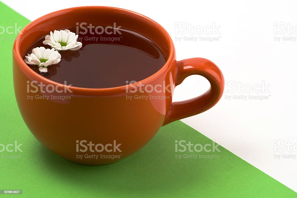 Red, green, white royalty-free stock photo