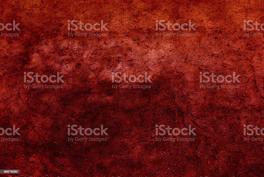 red grunge royalty-free stock photo