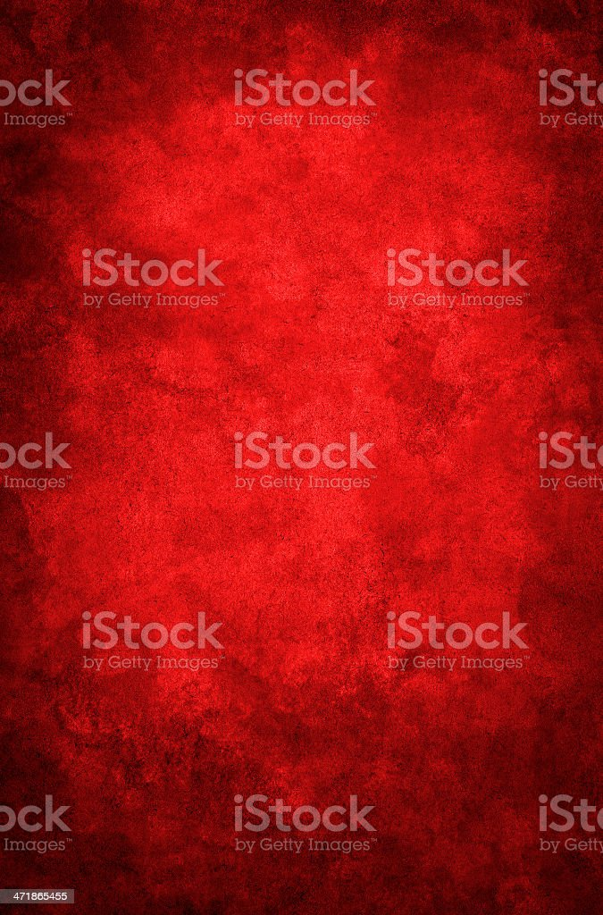 Red Grunge Vignette stock photo