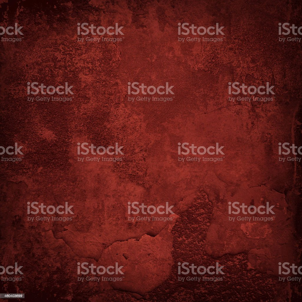 Red grunge wall stock photo