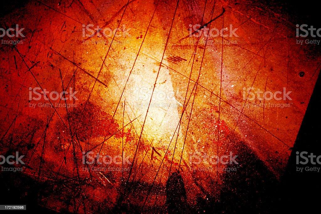 Red grungy center royalty-free stock photo