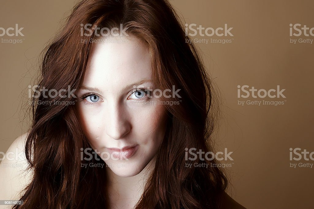 Red Hair Female royalty-free stock photo