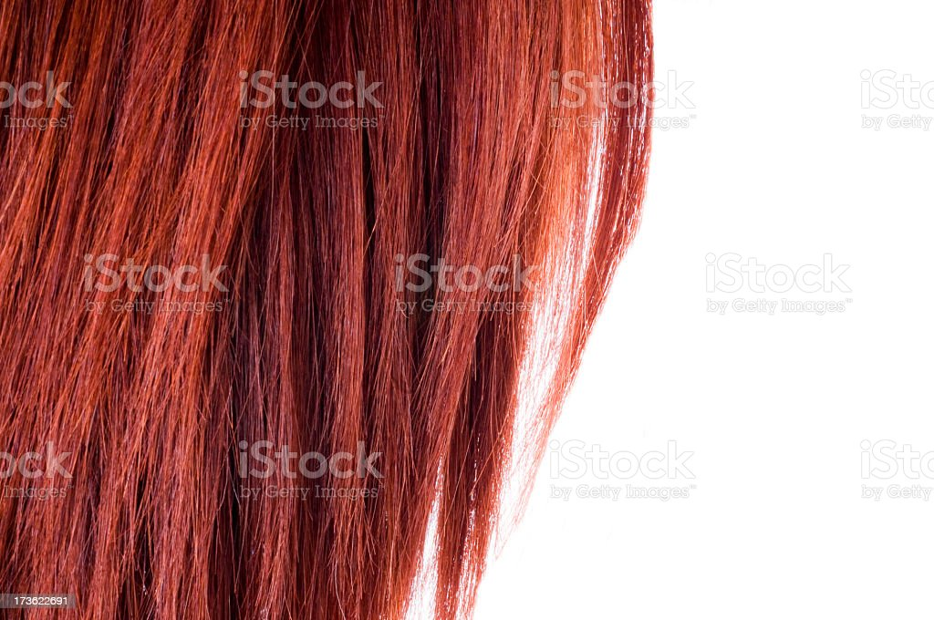red hair royalty-free stock photo
