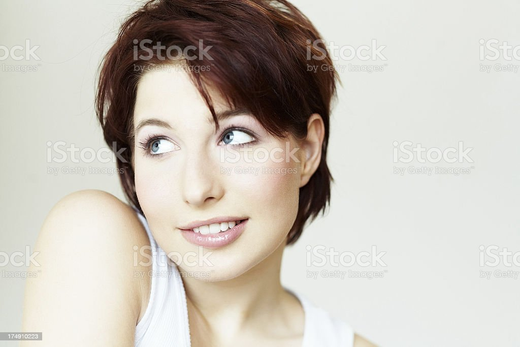 Red Haired Girl royalty-free stock photo