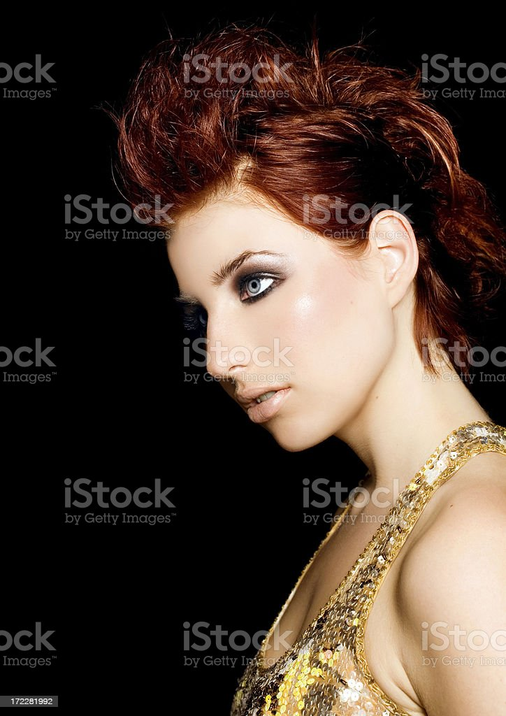 Red Haired royalty-free stock photo