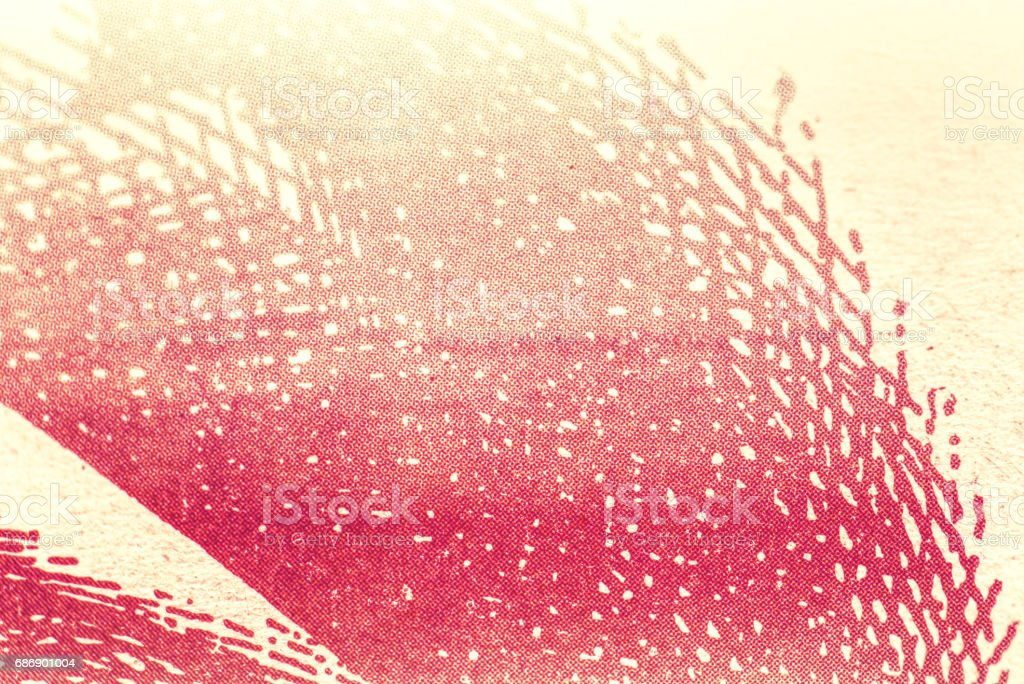 Red halftone background stock photo
