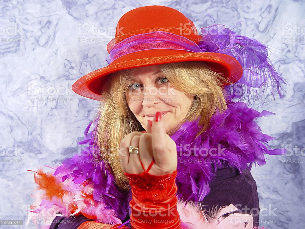 red hat series royalty-free stock photo