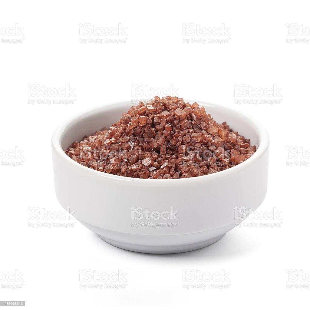 Red Hawaiian Sea Salt stock photo